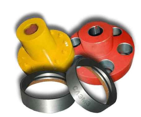 Кольца и полумуфты насоса Д, 1Д