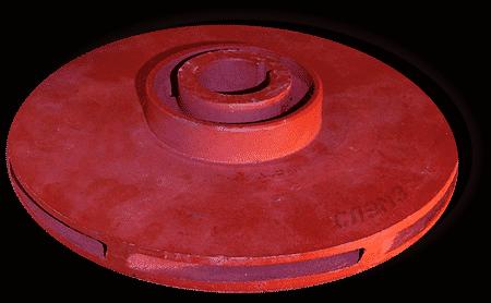 Рабочее колесо насоса К50-32-125 и КМ