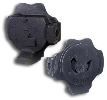 Передняя и задняя крышка насоса ВВН 1-6 и ВВН-6/0,4