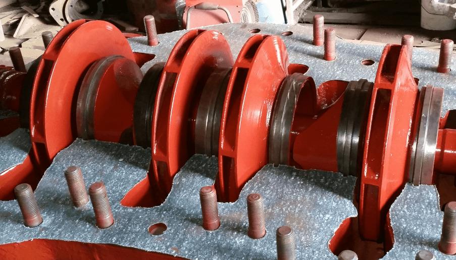 Рабочие колеса ЦН 400-210, ЦН 400-210а и ЦН 400-210б